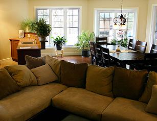 salon chaleureux et accueillant dcoration intrieure du salon with salon chaleureux et. Black Bedroom Furniture Sets. Home Design Ideas